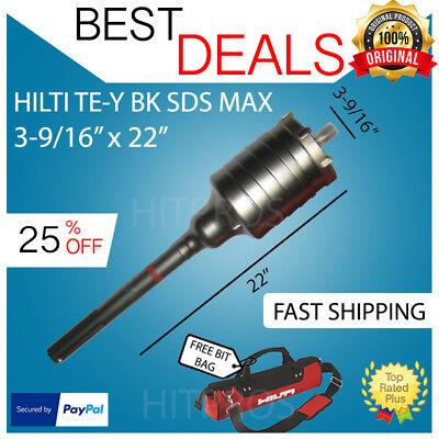 Hilti Te-y Bk Sds Max Core Bit 3-916 X 22 New Free Hilti Hat Fast Shipping
