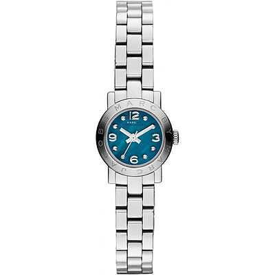 Marc by Marc Jacobs Mini Amy Crystal Dial Silver Tone Women's Watch MBM3274 $175