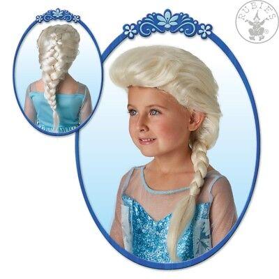 Elsa Frozen Wig Kinderperücke Eiskönigin geflochtener Zopf lang 1235286513