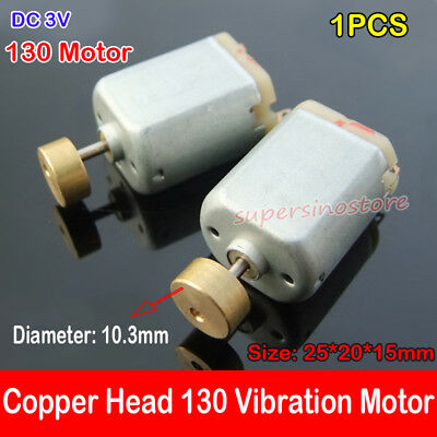 1pcs Dc 3v Massager Vibrator Motor Vibration Vibrating 130 Mini Motor