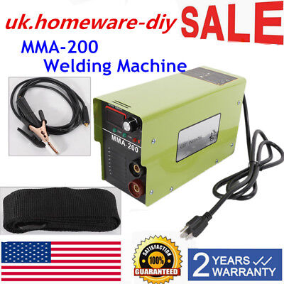 220v Inverter Welder Igbt Mini Handheld Arc Welding Machine Mma200 20-120a
