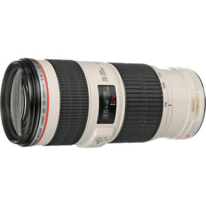 Canon 70-200mm f/4 IS USM excellent condition