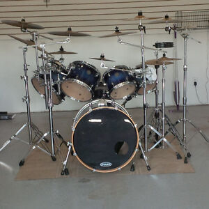 Mapex drums with Sabian Cymbals