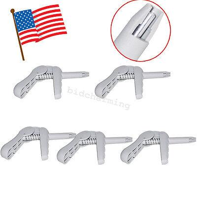 5x Dental Composite Gun Dispenser Applicator Syringe Unidose Compules Carpules