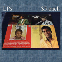 Charley Pride and Don Williams Lp Record Albums