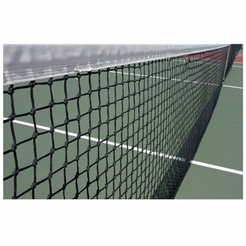 New Tennis Court Net Standard Official Size Steel Cable Included 42 feet