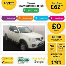 Mitsubishi L200 FROM £62 PER WEEK!