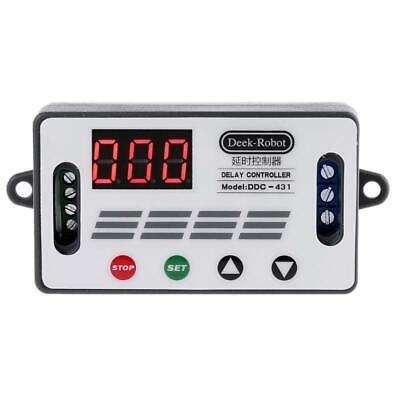 Dc 12v Ddc-431 Timer Delay Relay Switch Digital Led Display Delay Controller Mos