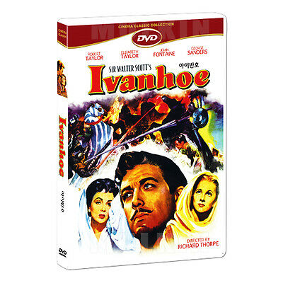 Ivanhoe (1952) DVD - Robert Taylor, Elizabeth Taylor (*New *Sealed *All Region)