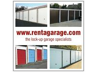 Garages available NOW! Willow Crescent Farnborough GU14 8EY, NEW DOORS & ROOFS