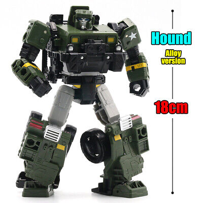 Transformers G1 Hound Willys JEEP Autobot Robot Alloy Version Action Figure Toys