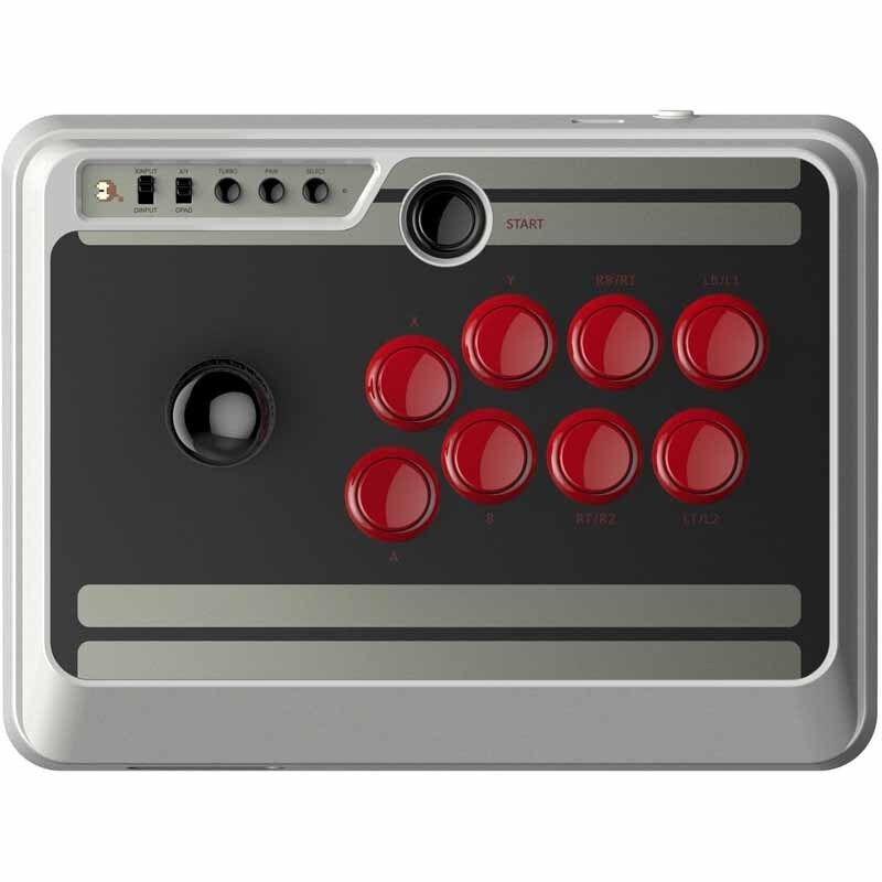 8Bitdo NES30 Arcade Stick for Nintendo Switch, Windows, Andr