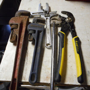 5 Plumber Wrenches