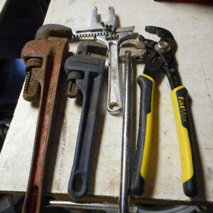 4 Plumber Wrenches
