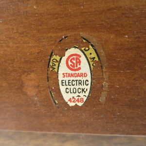 Vintage Clock Seth Thomas 4248 Seth Thomas Canada Electric 1953 Kitchener / Waterloo Kitchener Area image 6