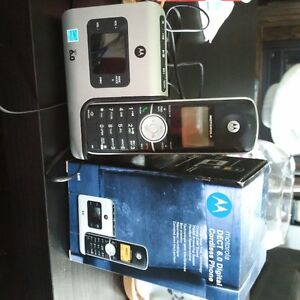 Motorola DECT 6.0 Digital Cordless Phone with Answering Machine