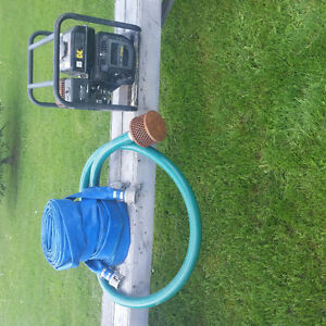 7 H.P.  gas powered water transfer pump for sale