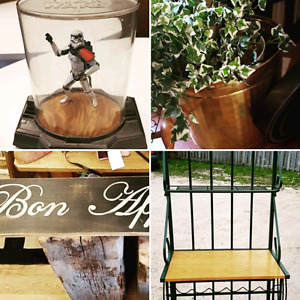 Online auction. Home furnishings and collectibles