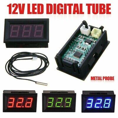 Digital Thermometer Black Probe Sensor Temperature Waterproof Accessories