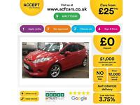 Ford Fiesta ZETEC S FROM £25 PER WEEK!