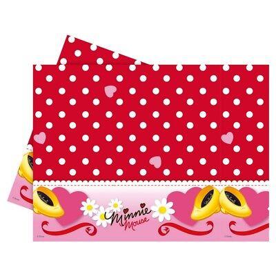 54417 Disney Minnie Mouse - Tischdecke Wachstuch Decke 120 x 180 cm