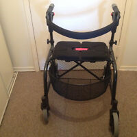 2 walkers, shower chair and commode chair