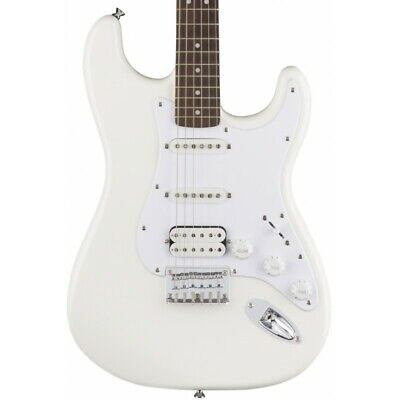 Guitarra Electrica SQUIER Bullet Stratocaster HSS HT Arctic White LRL