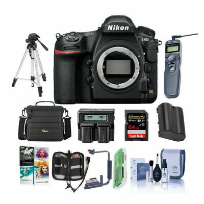 Nikon D850 45.7MP Digital SLR Camera, Messenger bag and more