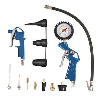 Scheppach 13-teiliges Druckluft-Werkzeug-Set