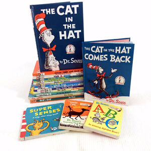 20 Dr Seuss Books Bright & Early Beginner Picture Storybooks