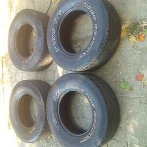 4- 285/70r/17 toyo open country at tires Cambridge Kitchener Area image 4