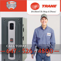 TRANE FURNACE | AIR CONDITIONERS | DUCTLESS | HEAT PUMPS