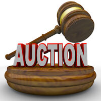 New and Pre-owned auction Nov.25