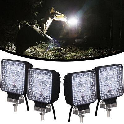 4pcs 27w Led Work Light Head Lamp For Caterpillar Excavators 303.5e2cr 304e2cr