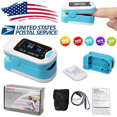 Fda Usa Oled Finger Tip Pulse Oximeter Spo2 Pr Blood Oxygen Heart Rate Monitor