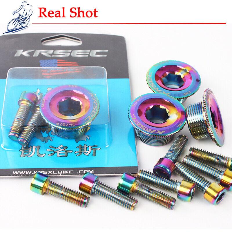 M18//M20 Crankset Crank Chainring Chainset Hexagon Cap Bolt Fit Shimano//SRAM//FSA