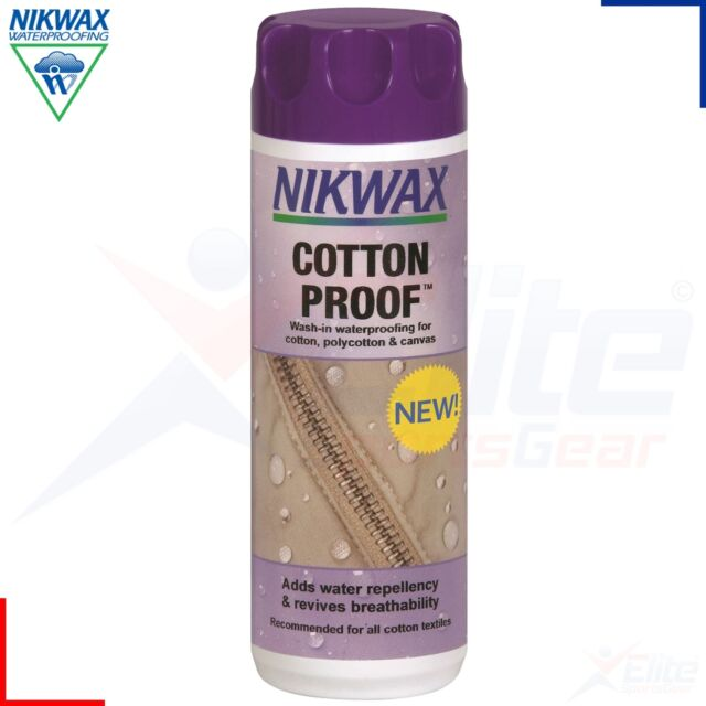 Nikwax Cotton Proof Wash in Cotton Polycotton and Canvas Waterproofing 300ml