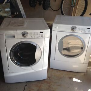 Kenmore front load washer and electric dryer