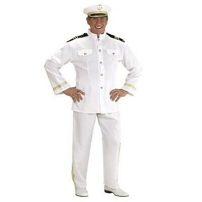3249C Offizier Kostüm KAPITÄN Uniform Kapitänskostüm Navy Gr XL  56 58