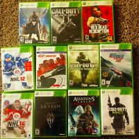 Xbox 360 (4Gb), 320 Gb Harddrive, Controllers, Games, Headset