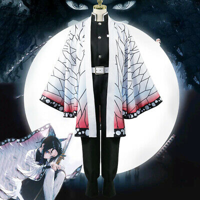 Halloween Costumes Anime Cosplay (Anime Kimetsu No Yaiba Cosplay Costumes Shinobu Kocho Cosplay Costume Halloween)