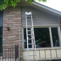 Aluminum window and door capping and caulking