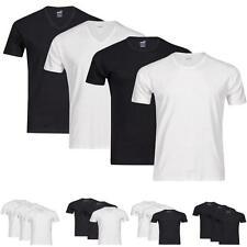 6er Puma T-Shirts Herren V-Neck & Rundhals 100% Baumwolle versch. Farben