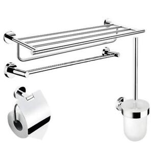 New Arrival 4pcs bathroom hardware Stainless Stell(020119)