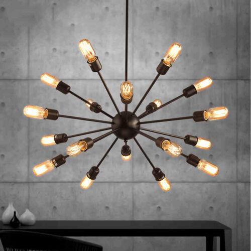 Vintage industrial 18 lights spider chandelier edison lamp pendant vintage industrial 18 lights spider chandelier edison lamp pendant ceiling light mozeypictures Gallery