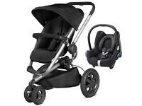 Quinny Buzz Xtra Single Seat Pushchair \ Pram with Maxi Cosi Cabriofit car seat -BRAND NEW