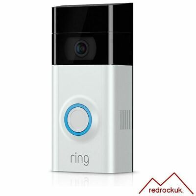 Ring Video Doorbell 2 Full 1080p HD WiFi Two-Way Talk  Motion Detection Camera