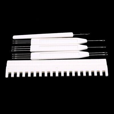 50Pcs//Set Sweater Knitting Needle Titanium Zinc Steel Machine Accessories PS1
