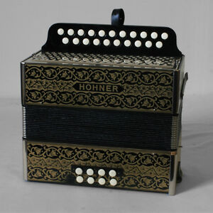 Hohner 2-Row Button Accordion