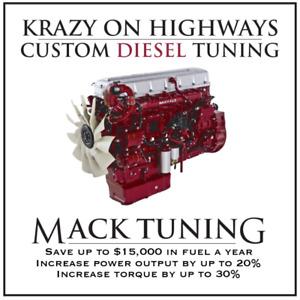 Krazy On Highways Custom MACK EGR, DPF & UREA Delete Tuning